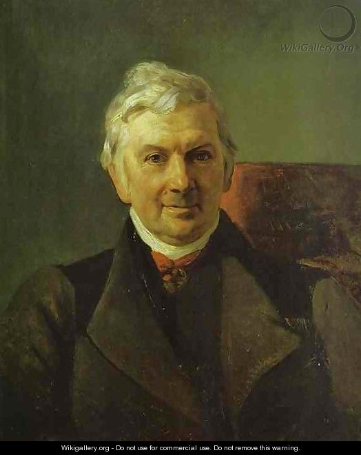 Portrait of the Professor of the Moscow Medical Academy Janish - Jules Elie Delauney