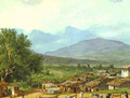 Village of San Rocco near the Town of Corfu 1835 - Julia Vajda