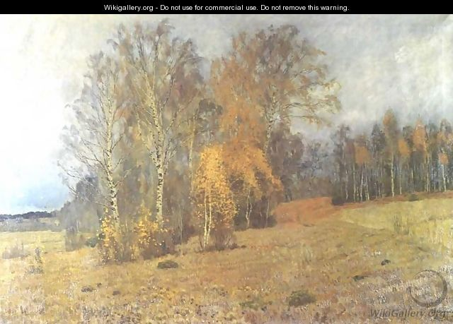 October 1891 - Isaak Ilyich Levitan