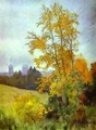 Autumn Landscape with a Church 1890 1899 - Isaak Ilyich Levitan
