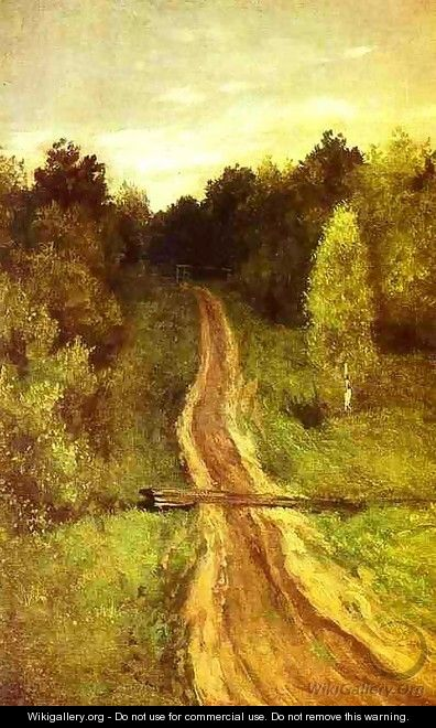 Road 1899 - Isaak Ilyich Levitan