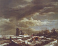 Winter landscape 2 - Jacob Van Ruisdael
