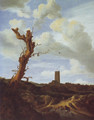 View of egmond aan zee with a blasted elm - Jacob Van Ruisdael