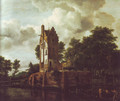 Reconstruction of the ruins of the manor kostverloren - Jacob Van Ruisdael