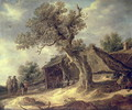 Landscape with an Oak 1634 - Jacob Van Ruisdael