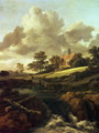 Landscape with a stream - Jacob Van Ruisdael