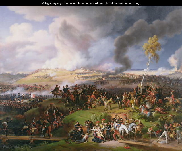 Battle of Moscow 7th September 1812 1822 - Louis Lejeune