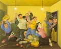 Massacre On The Best Corner 1997 - Fernando Botero
