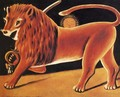 Lion and Sun - Niko Pirosmanashvili