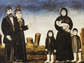 Childless Millionaire and Poor Woman with Children - Niko Pirosmanashvili