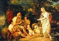 Erminia and the Shepherds Unfinished 1824 - Julia Vajda