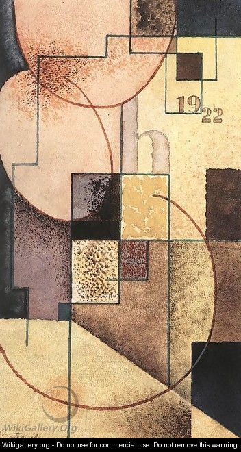 Geometrical Compositioon 1922 - Piere-Paul Prudhon