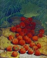 Strawberries Strewn on a Forest Floor - William Mason Brown