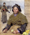 Flora The Gypsy Flower Seller - Sandor Nagy