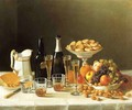 Wine, Cheese and Fruit 1857 - John Francis