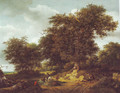 Bentheim castle - Jacob Van Ruisdael