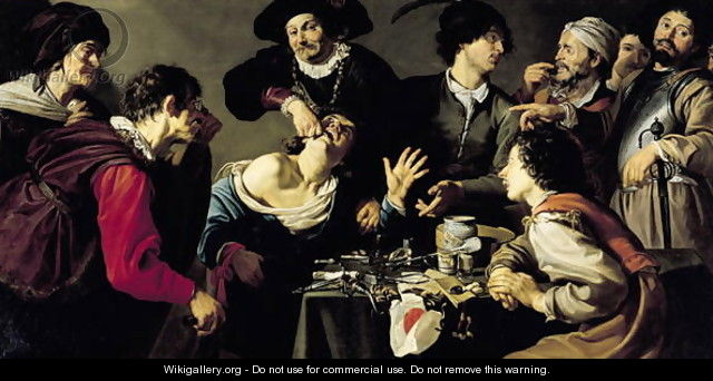 The Tooth Extractor 1635 - Theodoor Rombouts