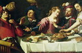 The Meal - Theodoor Rombouts