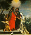 The Mystic Marriage of St Catherine of Siena - Francesco Vanni