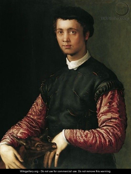 Portrait of a Young Man 1548 - Francesco de