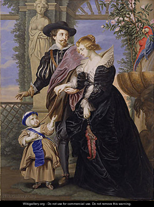 rubens helena and son Thrill your walls now with a stunning peter paul rubens print from the world's  largest art  rubens, his wife helena fourment and their son frans, c1635.