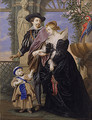 Rubens His Wife Helena Fourment and Their Son Peter Paul - Bernard III Lens