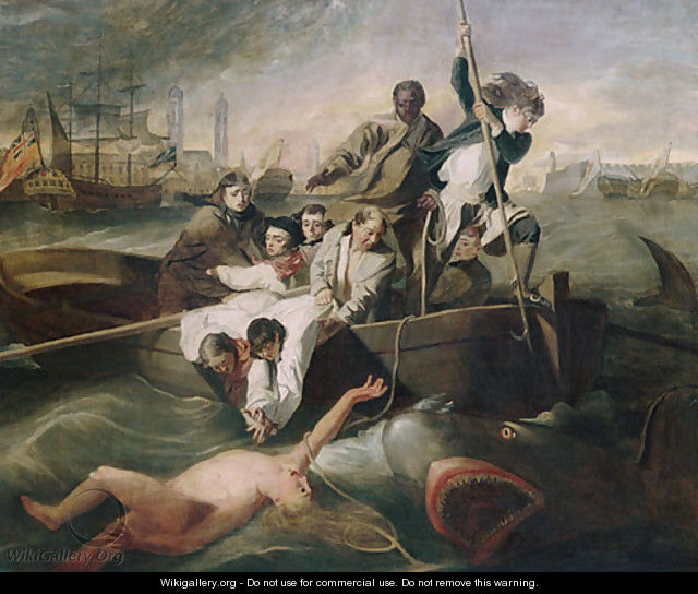 Watson and the Shark 1778 - Anonymous Artist