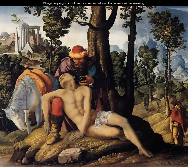 The Good Samaritan 1537 - Anonymous Artist