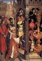 St Augustine Sacrificing to a Manichaean Idol 1480 - Anonymous Artist