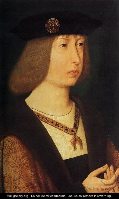 Portrait of Philip the Handsome 1500 - Anonymous Artist
