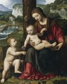 Madonna with Child and Young St John c 1515 - Bernardino Luini