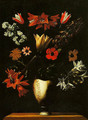 Vase with Crown Imperial Tulips and Anemones - Giuseppe Recco