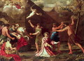 The Stoning of St Stephen - Giacinto Gimignani