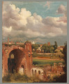 View from the Palatine Rome 1821 - Jean-Charles Joseph Rémond