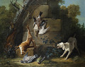 Dog Guarding Dead Game 1753 - Jean-Baptiste Oudry