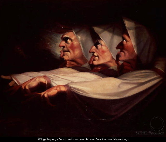 Three Witches - Johann Henry Fuseli