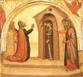 Saint John the Evangelist Causes a Pagan Temple to Collapse ca 1370 - Francescuccio Ghissi