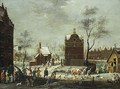 A Winter Carnival in a Small Flemish Town - Pieter Gysels