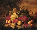 Still Life with Fruit Date unknown 5 - Severin Roesen