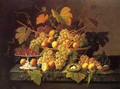 Still Life with Fruit 1854 - Severin Roesen