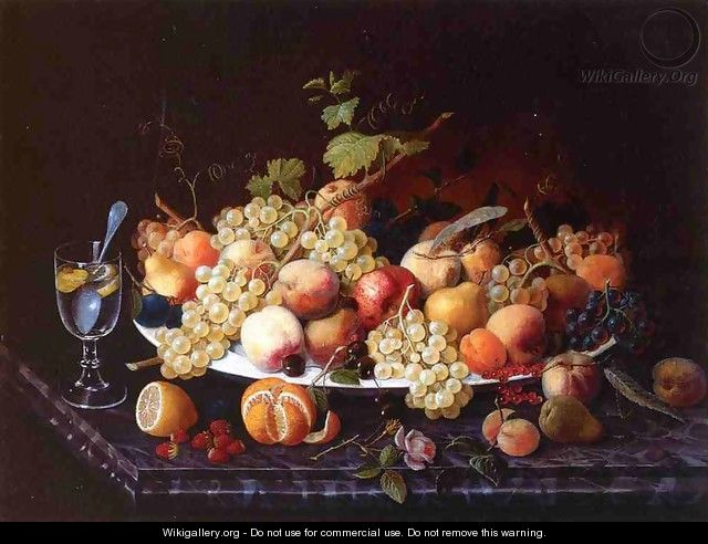 Still Life with Fruit 1850 2 - Severin Roesen