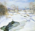 Icebound Brook 1922 - Willard Leroy Metcalf