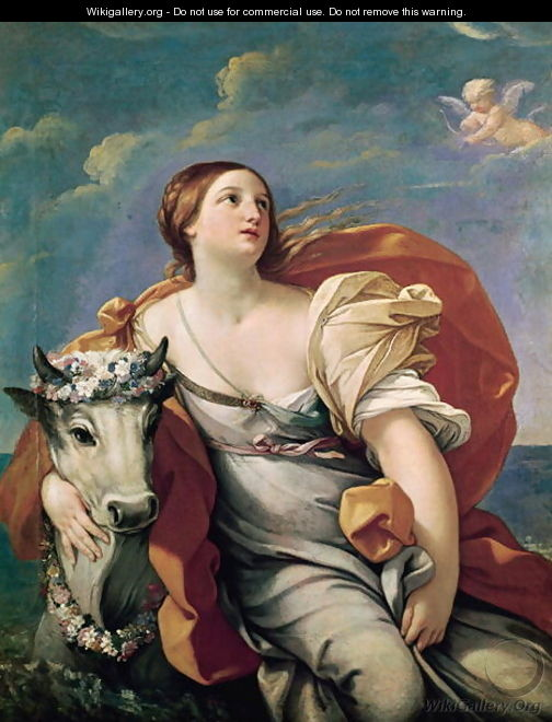 The Rape of Europa - Guido Reni