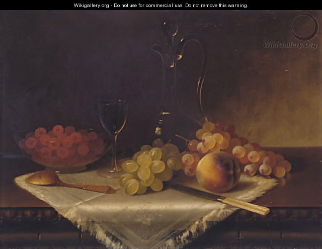 Still Life with Fruit - Carducius Plantagenet Ream