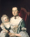 Mrs Jacob Hurd and Child 1762 - William Johnston