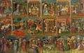 Eighteen Scenes from the Life of Christ 1435 - Anonymous Artist
