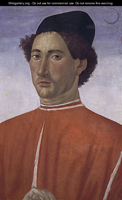Portrait of a Man ca 1481 - Cosimo Rosselli