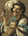The Merry Drinker - Hendrick Terbrugghen
