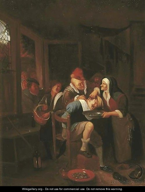 Cutting for the Stone - Jan Steen