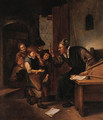 A Schoolmaster Punishing One Of His Pupils - Jan Steen